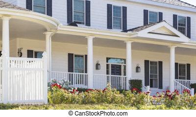 signe, vrai, vente, panoramique, maison, propriété