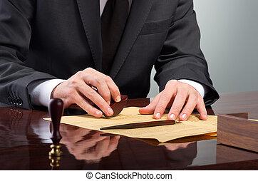 signer, testament