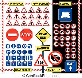 signes, icônes