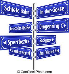 signes, rue, crime