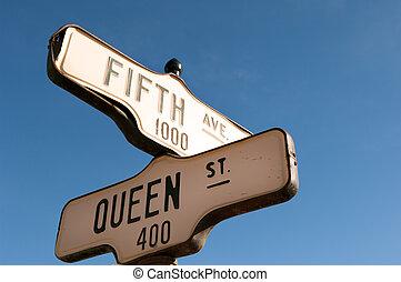 signes rue