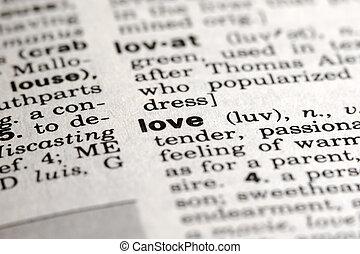 significado, amor