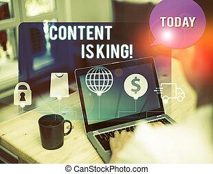 significado, non, crescendo, letra, texto, pago, busca, focalizado, conceito, results., escrita, king., visibilidade, conteúdo, marketing