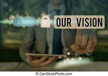 signification, concept, vision., actions., clair, écriture, sert, choisir, texte, courant, guide, notre, écriture, avenir