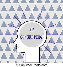 signification, organisations, tête, concept, silhouette, contour, foyers, texte, entouré, il, space., leur, chaud, rayons, lumière, conseiller, humain, vide, analysisage, écriture, consulting.