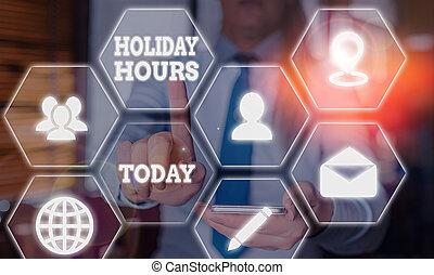 significato, lavoro, straordinario, concetto, testo, scrittura, hours., flessibile, sotto, vacanza, personale, schedules., scrittura