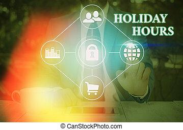 significato, lavoro, straordinario, concetto, testo, scrittura, hours., flessibile, sotto, vacanza, personale, schedules.
