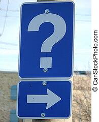 signo de interrogación