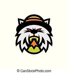 signo., sombrero, gato