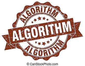 signo., stamp., algorithm, sello