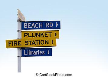 signpost, 01