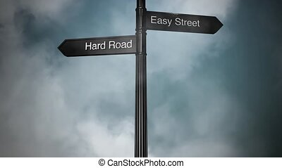 Signpost Hard and Easy HD