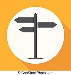 signpost, icona