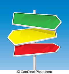 Signpost (vector)