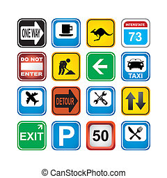 signs app icons