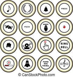 Signs for doorbells