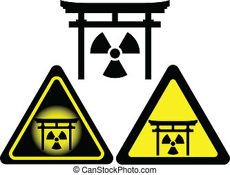 signs of radiation japan