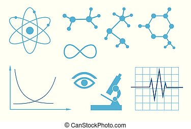 signs of science - vector set