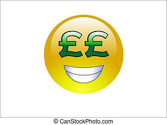 signs/money, agua, emoticons, libra, -