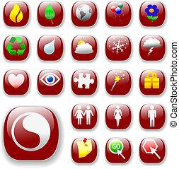signs&symbols-ruby, красный