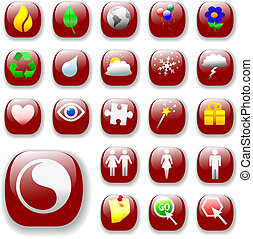 signs&symbols-ruby, vermelho