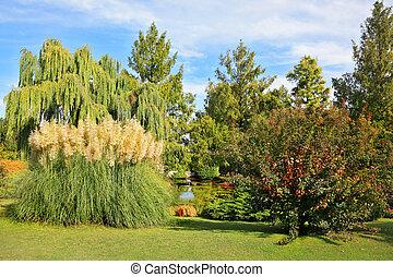Sigurta fabulously beautiful park in northern Italy