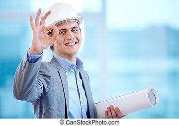 sikeres, építészmérnök