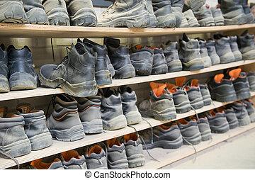 sikkerhed, sko