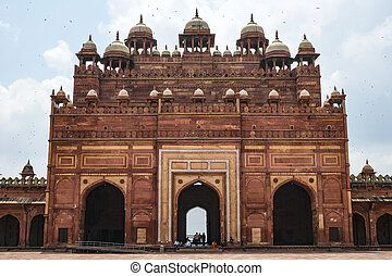 sikri, uttar, india., fatehpur, pradesh