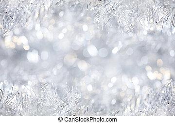 silber, weihnachten, hintergrund