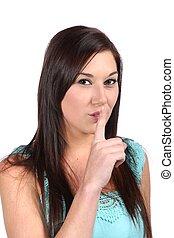 Silence Gesture