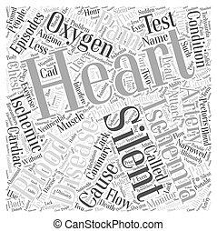 Silent Ischemia and Ischemic Heart Disease Word Cloud...