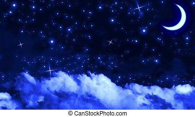 Silent Night Sky