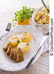 silesian, dumplings
