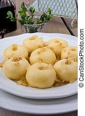 silesian, dumplings, batata