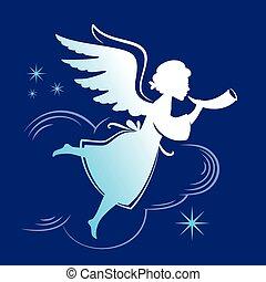 silhouette Angel