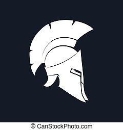 Silhouette Antiques Helmet - Antiques Roman Helmet,...