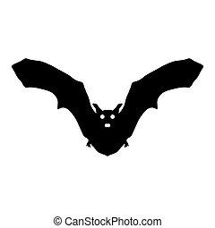 silhouette bat