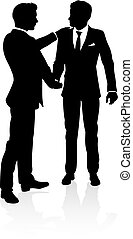Silhouette Business People