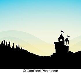 Silhouette Castle