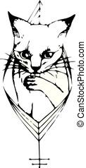 clip art et illustrations de tatouage 179 010 dessins et illustrations libres de droits de. Black Bedroom Furniture Sets. Home Design Ideas