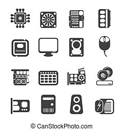Silhouette Computer icons