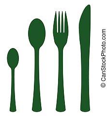 Silhouette Cutlery Set