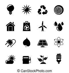 cology, nature and environment Icon