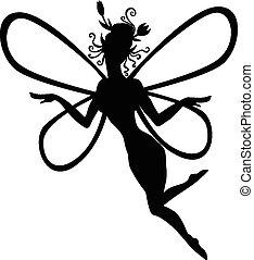 silhouette, fee