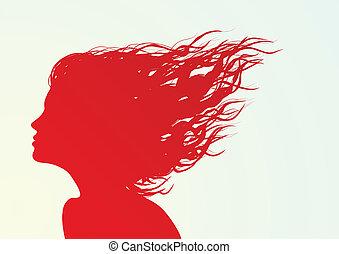silhouette, figure