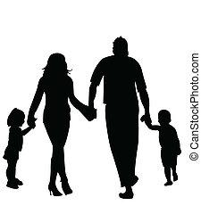 silhouette, figure family