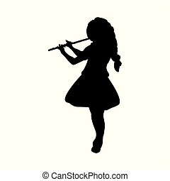 Flute player Clipart Vector and Illustration. 356 Flute ...