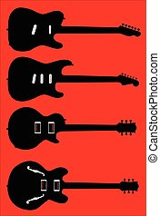 Silhouette Guitar Collection