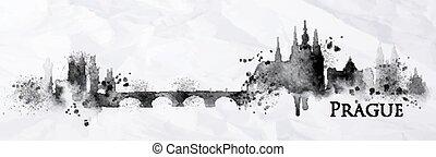 Silhouette ink Prague